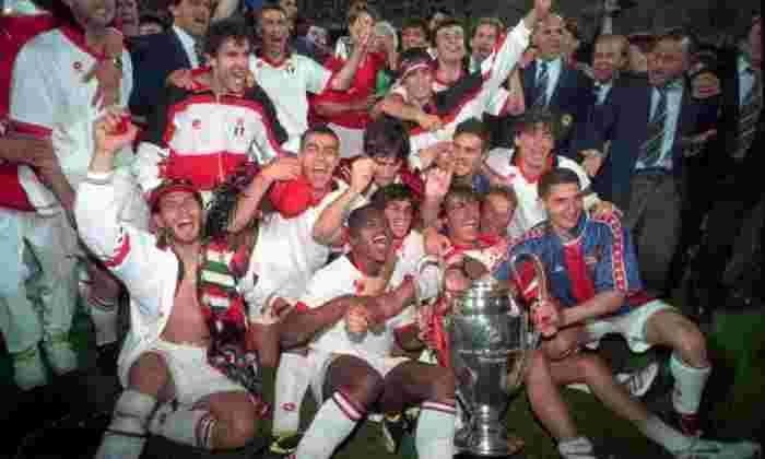 欧洲杯/冠军联赛历史上最成功的俱乐部 - 七大主导数十年