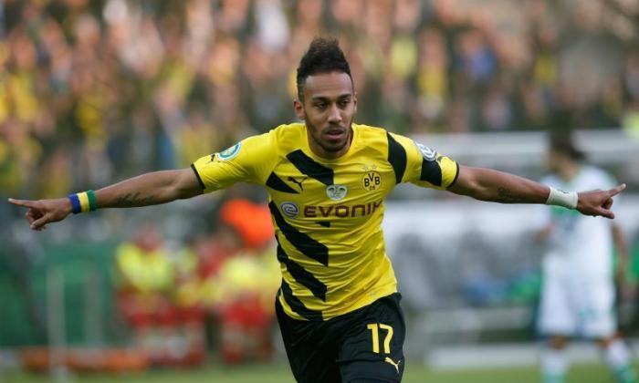 阿森纳设定为£29米Borussia Dortmund Forward Pierre-Emerick Aubameyang