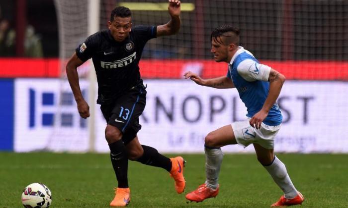 曼彻斯特联队转移新闻:Inter Milan Midfielder Fredy Guarin在Serie A中幸福