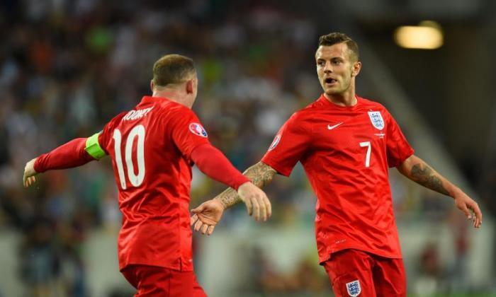 Roy Hodgson Lauds Jack Wilshere和Wayne Rooney之后Duo Inspire England Win