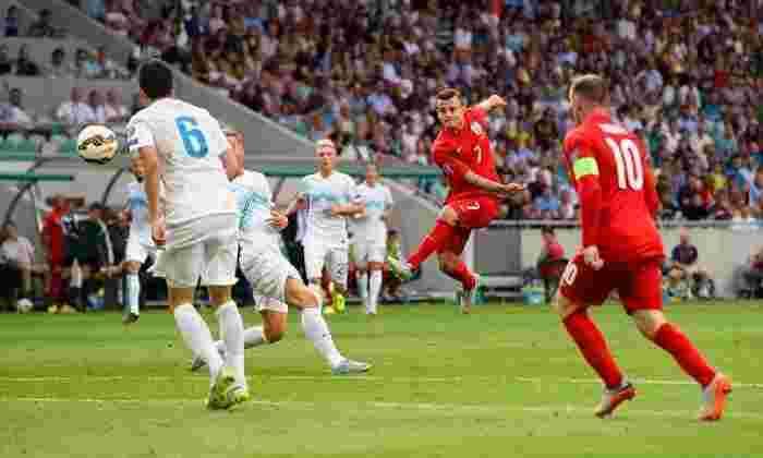 斯洛文尼亚2-3英格兰:Wilshere Stunders通过2016年欧元的限定员帮助获得安全获胜