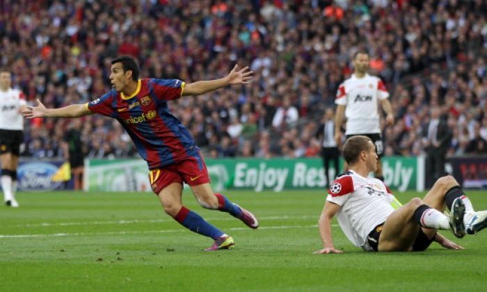 切尔西转移新闻:佩德罗的收购条款减少 - 观察他对2011年欧洲冠军联盟决定的目标的目标