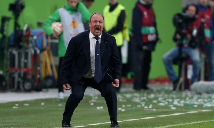 在Rafael Benitez的Marcotti更换Carlo Ancelotti在皇家马德里