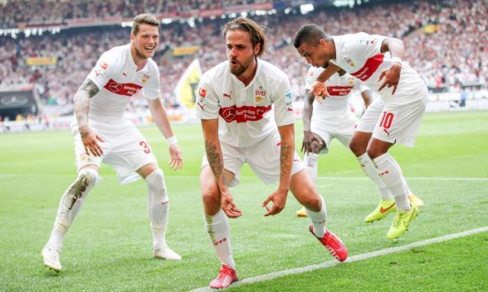灿烂的庆祝活动:Bundesliga明星去了猿!