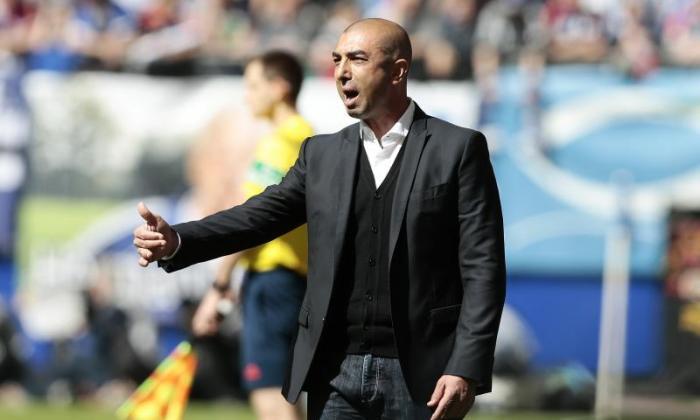 前切尔西经理Roberto di Matteo留下了七个月后的沙尔克