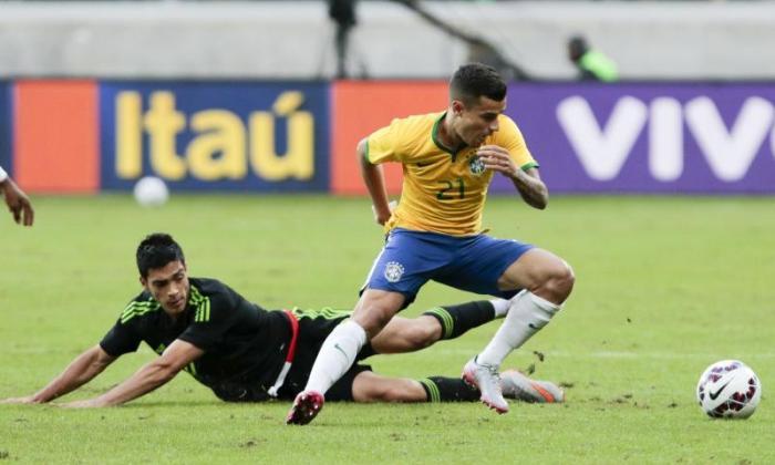 手表:利物浦明星菲利普·南京大学评分巴西的第一个目标