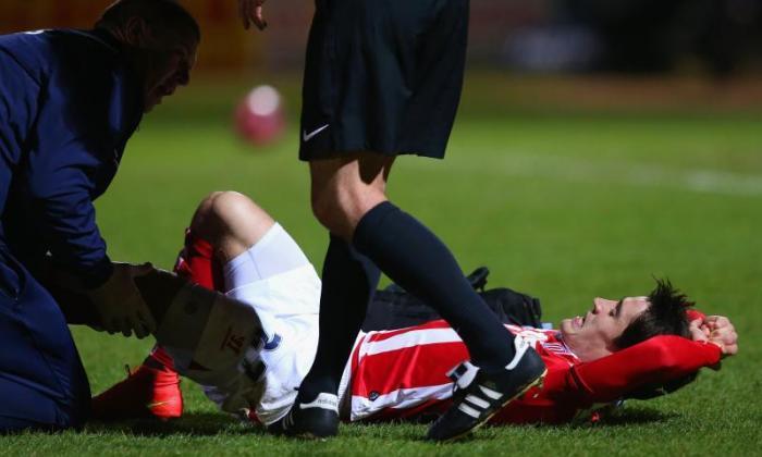 Bojan发布视频显示可怕的膝关节后逐渐进展