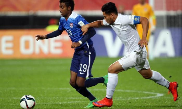 视频:阿森纳斯星球石Gedion Zelalem在20美元的世界杯下投入耸人听闻的展示