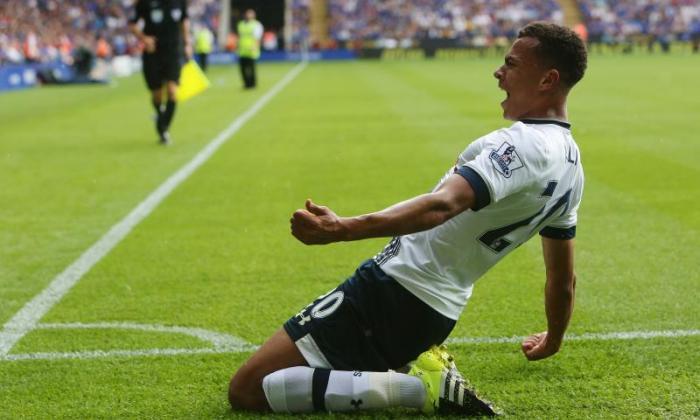 Tottenham Midfielder Dele Alli赢得了第一个英格兰高级英格兰,为下周的欧元欧元兑换