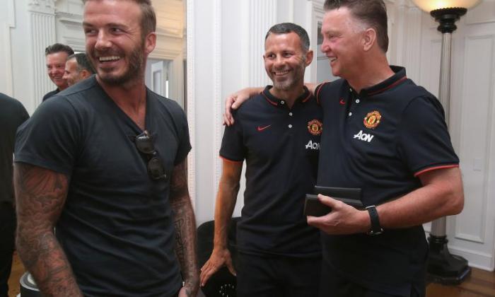 """独家 -  David Beckham说Ryan Giggs将使""""完美""""曼彻斯特联队经理"""