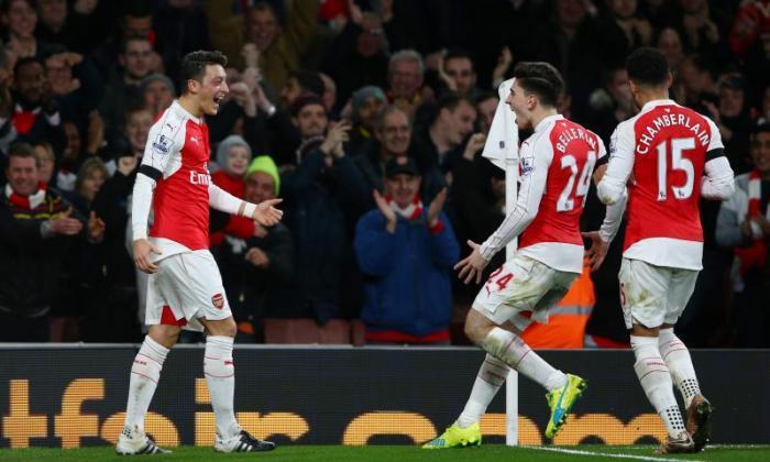 """""""我的英语词汇并不富有,可以说Mesut Ozil是多么好!'Arsene Wenger对阿森纳的胜利作出反应"""