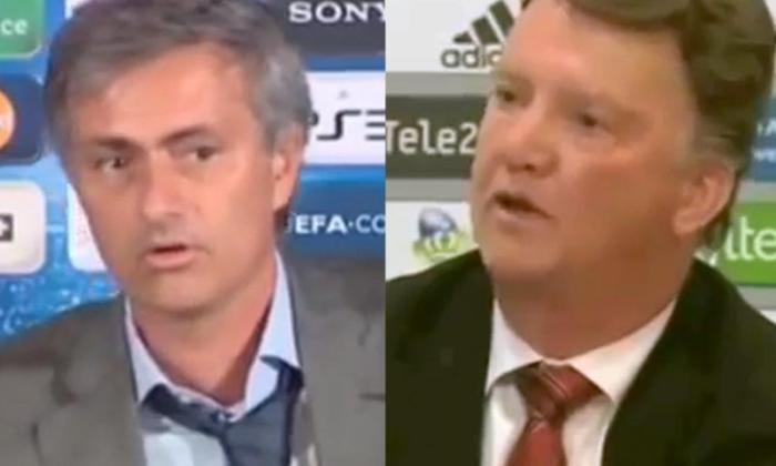 "Jose Mourinho告诉Louis Van Gaal:""我希望这个男人联合工作""*"