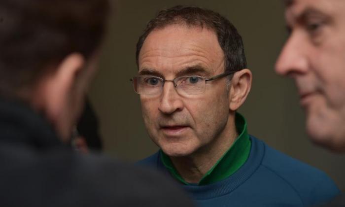 Martin O'Neill名称为爱尔兰共和国的初始39曼队2016年欧元汇款