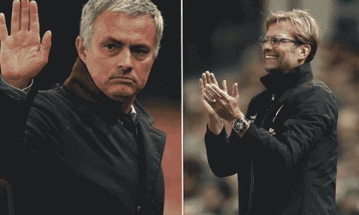Jurgen Klopp:切尔西经理Jose Mourinho'是一个好人......除非你是一名记者或裁判!'