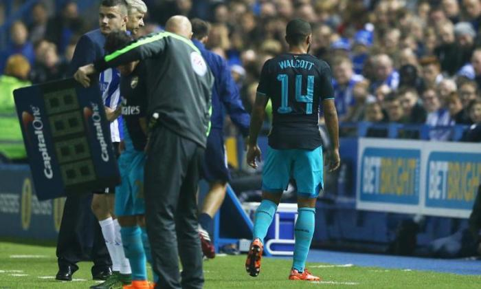 阿森温格Bemoans早期受伤,因为阿森纳在谢菲尔德星期三的联赛杯中