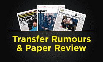 转移谣言和纸质评论 - 星期二,3月15日:Real Madrid Star为Chelsea举办了危险交换交易吗?