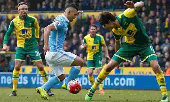 诺威奇市0-0曼彻斯特城:坚决的金丝雀将Manuel Pellegrini的男子抱到Carrow Road的Goalless Draw